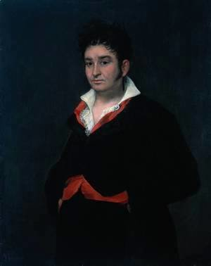 Goya - Don Ramón Satué (1765-1824), Alcade de Corte (judge of the fifth chamber of the council of Castile