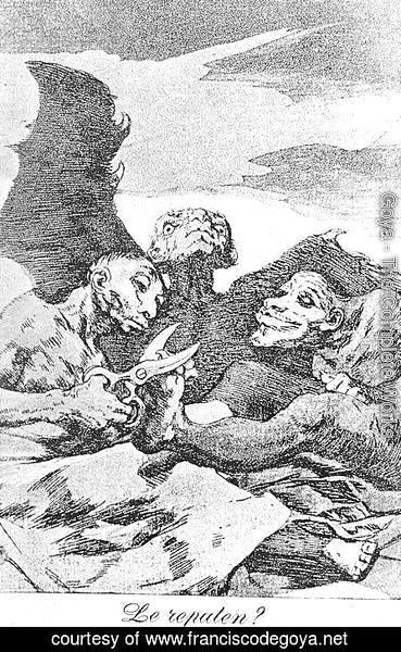 Goya - Caprichos - Plate 51: They Pare