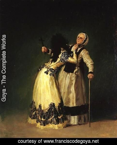 Goya - The Duchess of Alba and Her Duenna