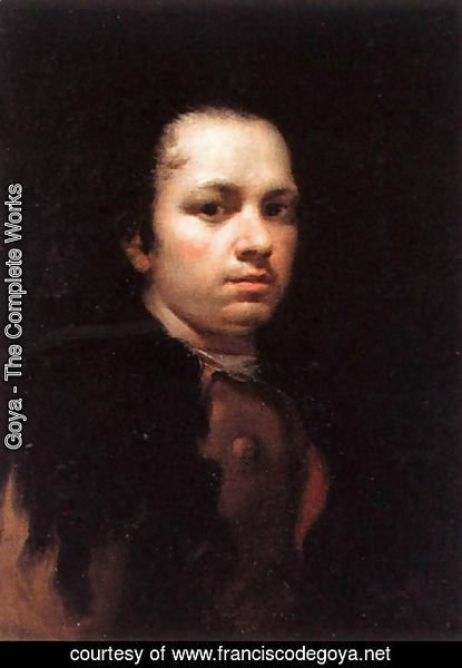 Goya - Self-Portrait I