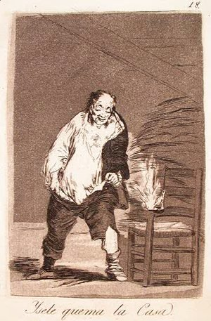 Goya - And His House Is on Fire
