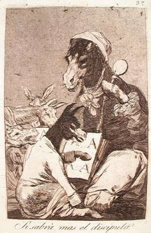 Goya - Might Not the Pupil Know More?