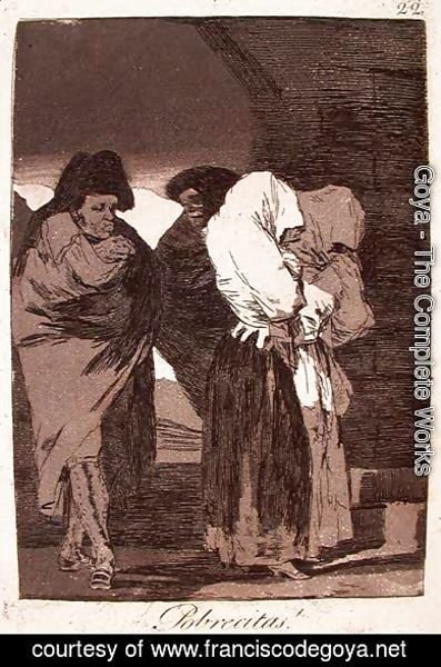 Goya - Poor Little Girls!
