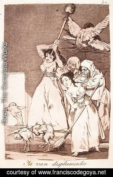 Goya - There They Go Plucked