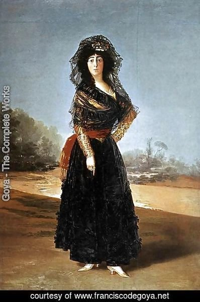 Goya - The Duchess of Alba 2