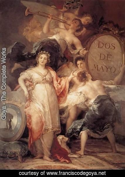 Goya - Allegory of the City of Madrid