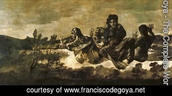 Goya - Atropos (The Fates)