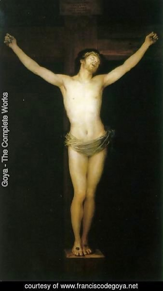 Goya - Crucified Christ
