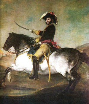 Goya - General Palafox with a horse