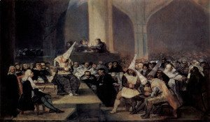 Goya - Inquisition Scene