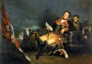 Goya - Manuel Godoy, Duke of Alcudia, 'Prince of the Peace'