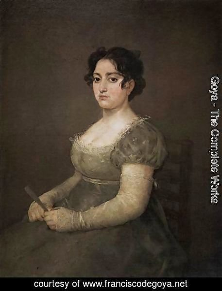 Goya - Portrait of a Lady with a Fan