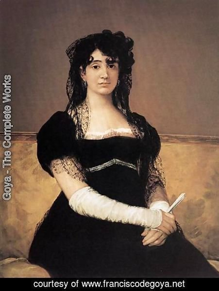 Goya - Portrait of Antonia Zárate