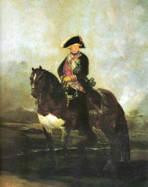 Goya - Portrait of Carlos IV with a horse