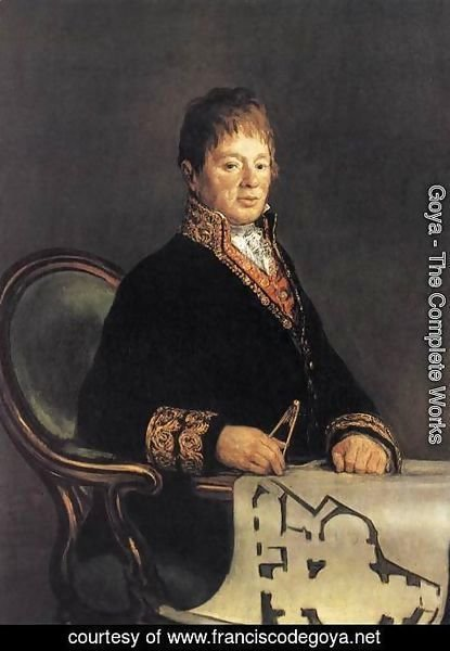 Goya - Portrait of Juan Antonio Cuervo