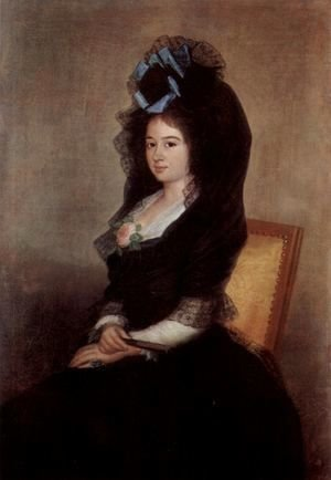 Portrait of Narcisa Baranana de Goicoechea