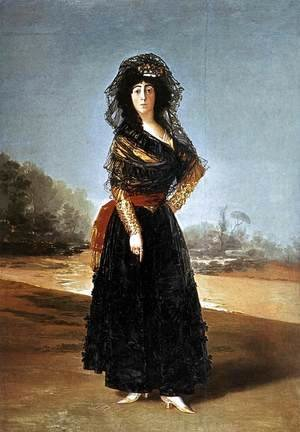 Goya - Portrait of the Duchess of Alba