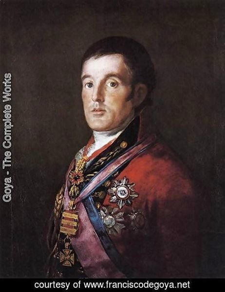 Goya - Portrait of the Duke of Wellington