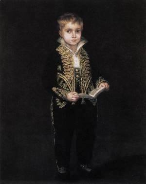 Goya - Portrait of Victor Guye