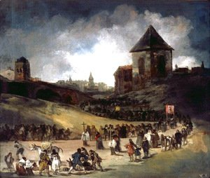 Goya - Procession in Valencia