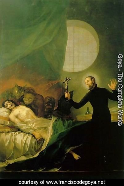 Goya - St Francis Borja at the Deathbed of an Impenitent