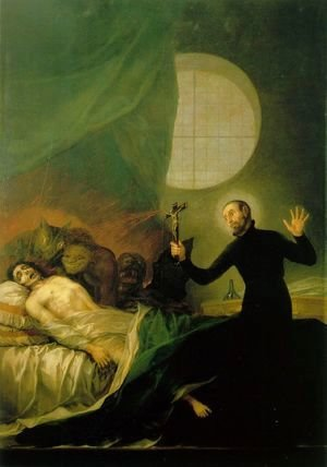 St Francis Borja at the Deathbed of an Impenitent