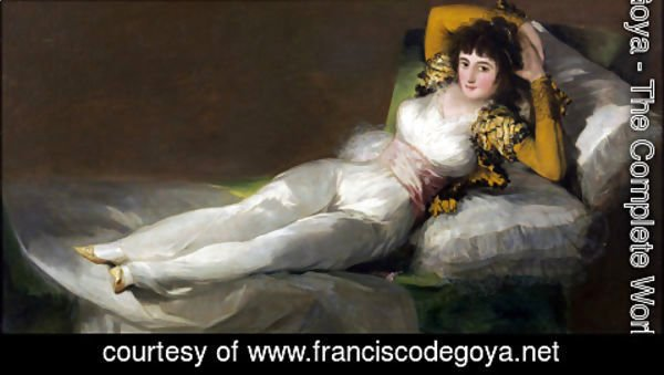 Goya - The Clothed Maja (La Maja Vestida)