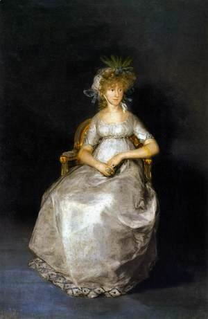 Goya - The Countess of Chinchón 2