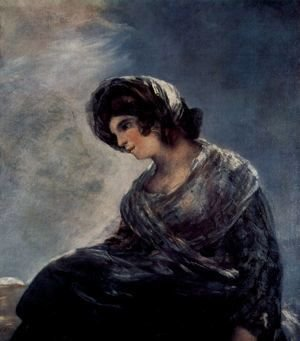 Goya - The Milkmaid of Bordeaux