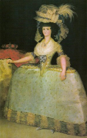 Goya - The queen Maria Luisa