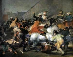 Goya - The Second of May, 1808, The Charge of the Mamelukes