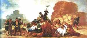 Goya - The Threshing