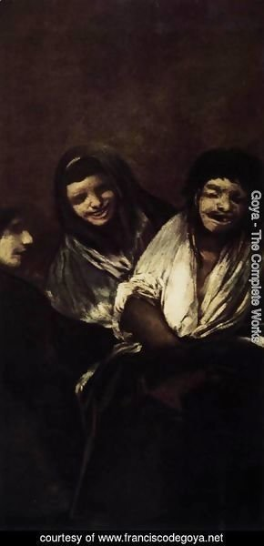 Goya - Two Women and a Man