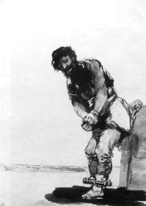 Goya - Chained Prisoner
