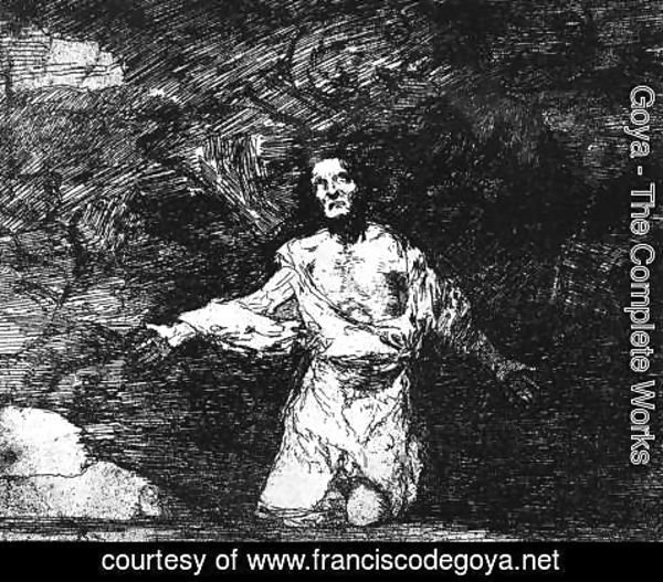 Goya - Mournful Foreboding of What is to Come
