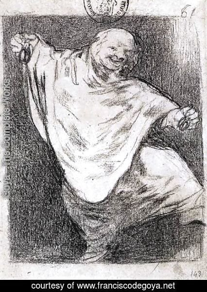 Goya - Phantom Dancing with Castanets