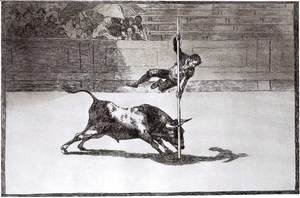 Goya - The Speed and Daring of Juanito Apiñani in the Ring of Madrid