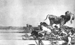 Goya - Unfortunate Events in the Front Seats of the Ring of Madrid
