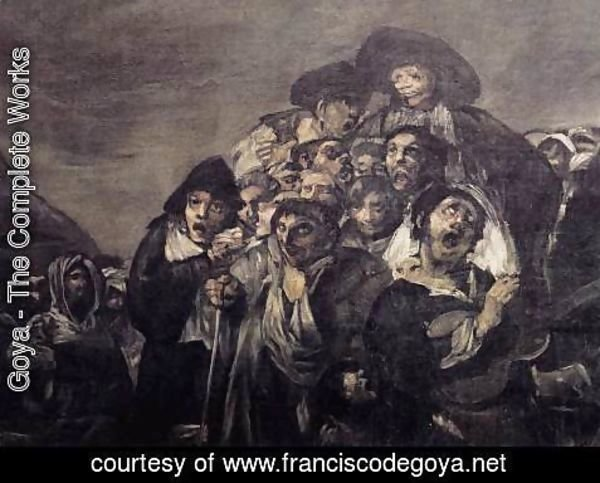 Goya - A Pilgrimage to San Isidro (detail 1)