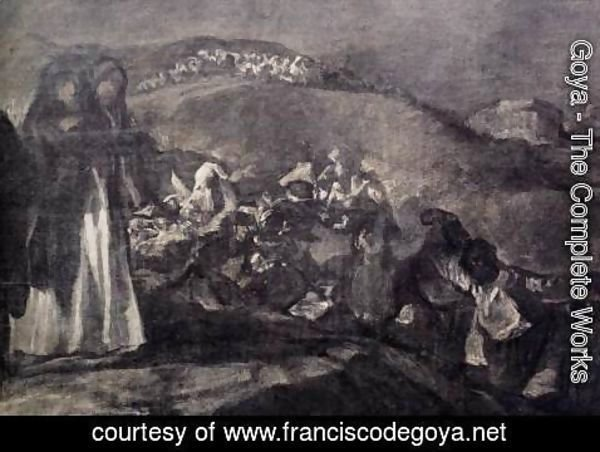 Goya - A Pilgrimage to San Isidro (detail 2)