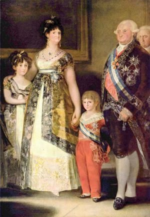 Charles IV and his Family (detail)