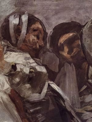 Goya - The Legende of St. Anthony of Padua (Detail) 4