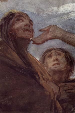 Goya - The Legende of St. Anthony of Padua (Detail) 5