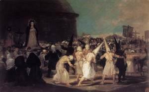 Goya - A Procession of Flagellants