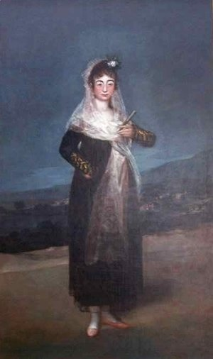 Portrait of Marquesa Santiago