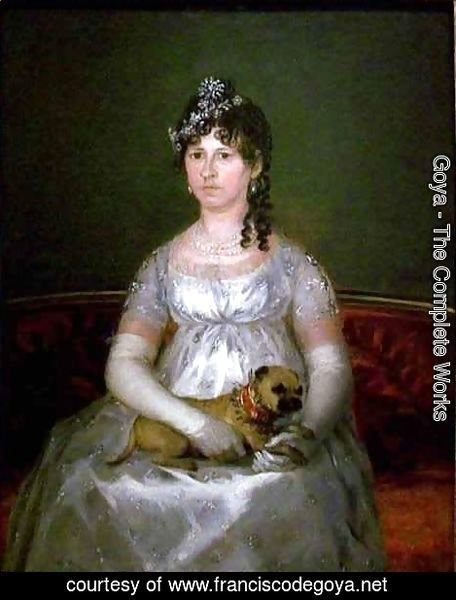 Goya - Portrait of Dona Francisca Vicenta Chollet y Caballero