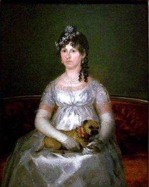 Portrait of Dona Francisca Vicenta Chollet y Caballero