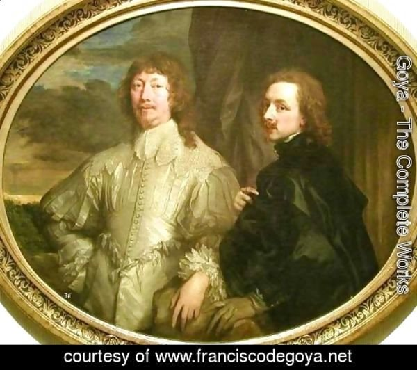 Goya - Self Portrait with Sir Endymion Porter