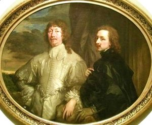 Self Portrait with Sir Endymion Porter