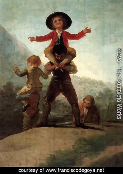 Goya - Playing at Giants